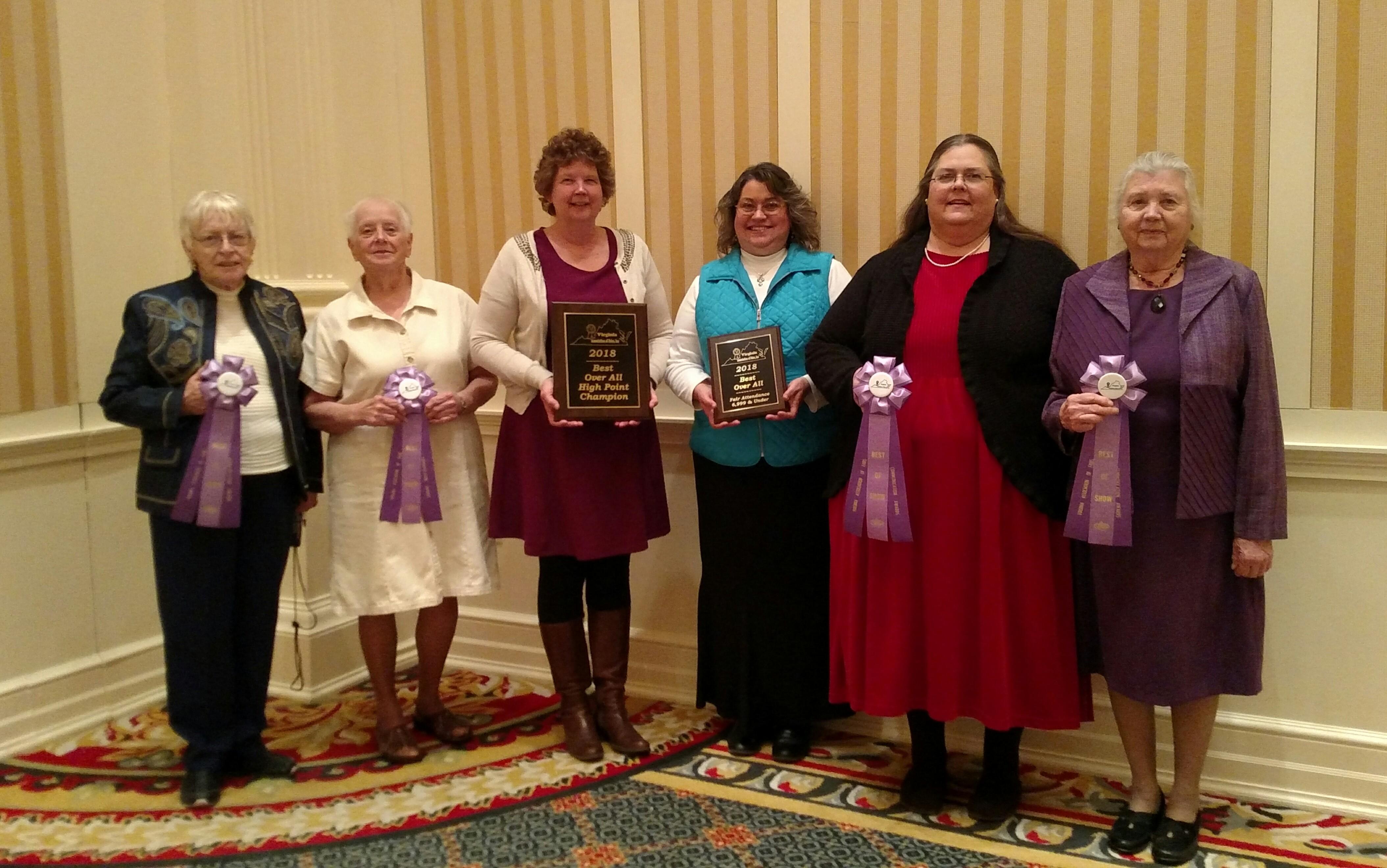 Carroll County Fair presented awards in 2018! — Carroll