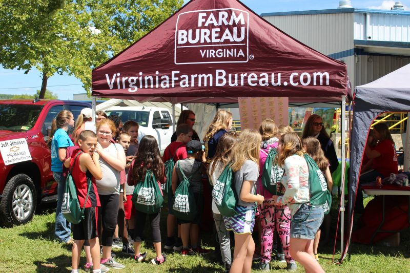 Farm Bureau Young Farmers Ag Day Carroll County Va